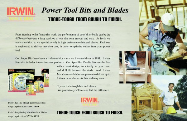 Irwin Bits and Blades