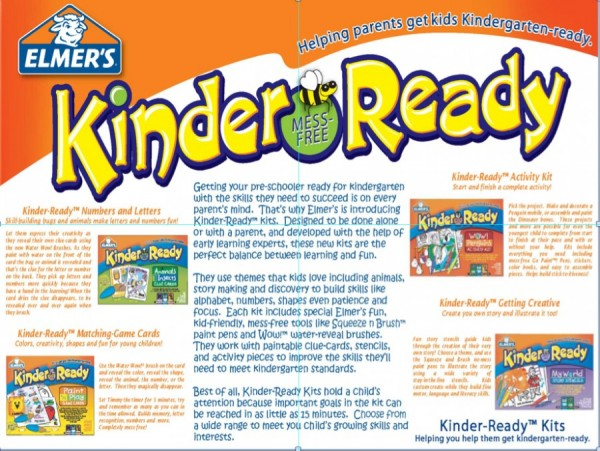Elmers Kinder Ready