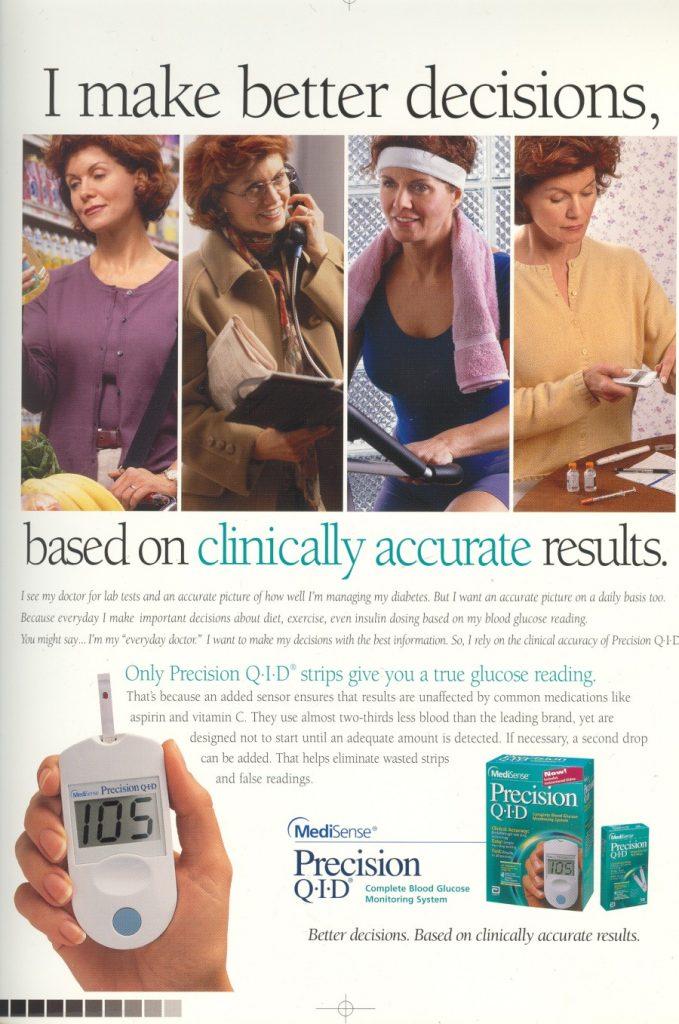 Abbott Precision QID Clinically accuracy